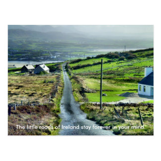 Little Irish Road Postcard