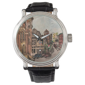 Little Italy, Cleveland, Ohio Painting Watch