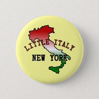 Little Italy New York 6 Cm Round Badge