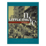Little Italy New York City Poster