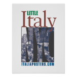 Little Italy New York Poster