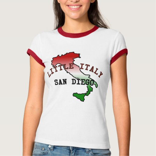 Little Italy San Diego T-Shirt