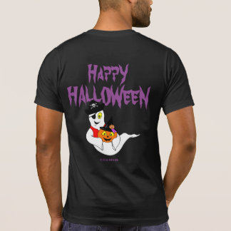 Little Jack & Boo Pirate HAPPY HALLOWEEN T-Shirt