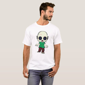 Little Jimmy Zombie Illustration T-Shirt
