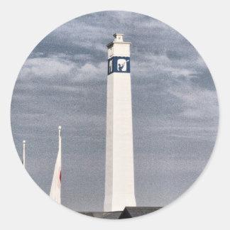 Little Joe Tower in Corning NY Classic Round Sticker
