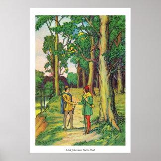 Little John Meets Robin Hood Poster