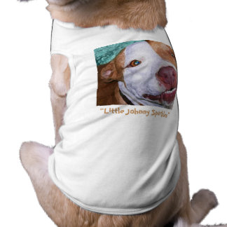 Little Johnny Sparkles Dog T-shirt