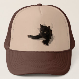 little jumping panther2 trucker hat