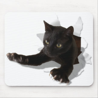 little jumping panther mouse pad