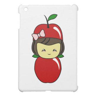 Little Kawaii Apple Girl iPad Mini Cover