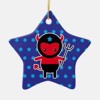 Little kawaii Ninja devil Christmas Ornament