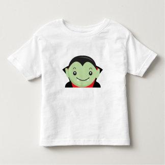 Little Kid Vampire Halloween Cartoon Character Toddler T-Shirt