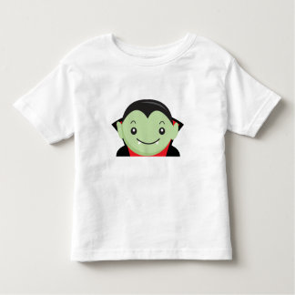 Little Kid Vampire Halloween Cartoon Character Tee Shirts