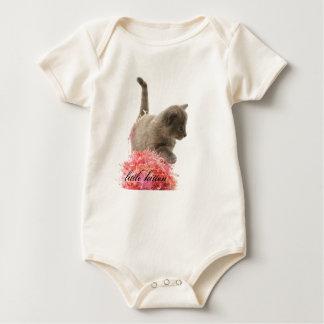 little kitten baby bodysuit