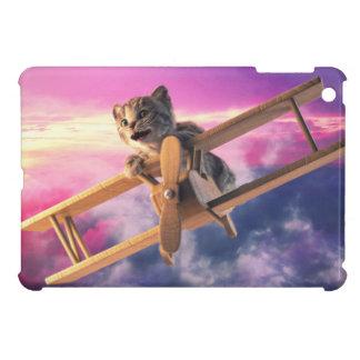 Little Kitten Flies - iPad Case