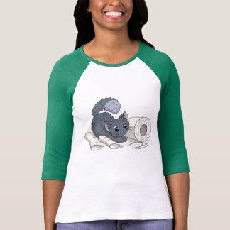 Little Kitten on Paper T-Shirt