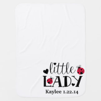 Little Lady Customizable Baby Blanket