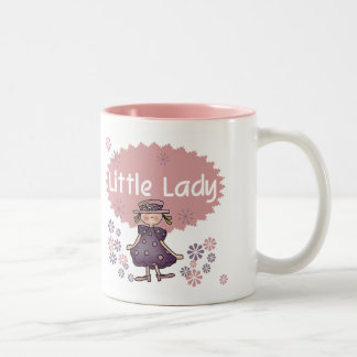 Little Lady Two-Tone Coffee Mug