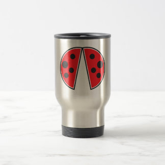 Little ladybird wings travel mug