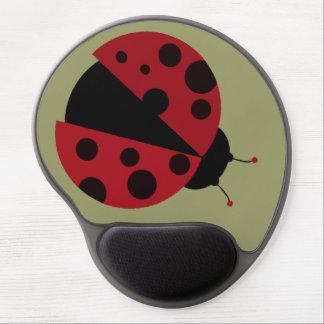 little ladybug gel mouse pads
