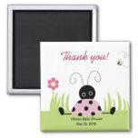 Little Ladybug (Pink) Baby Shower Favour Magnet