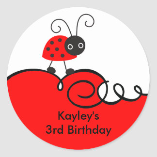 Little Ladybug Stickers