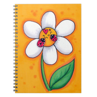Little Ladybugs Spiral bound note book