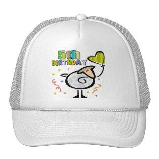 Little Lamb 5th Birthday Gifts Cap