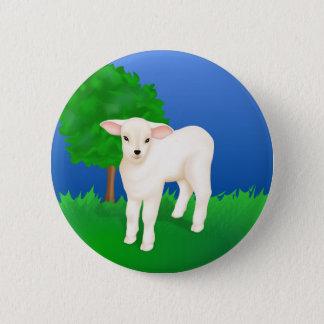 Little Lamb 6 Cm Round Badge