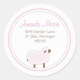 Little Lamb Address Label