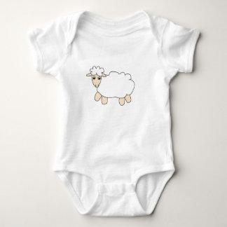 Little Lamb Baby Bodysuit
