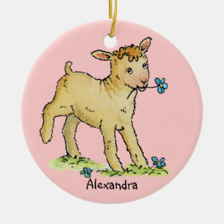 Little Lamb Baby Ornament