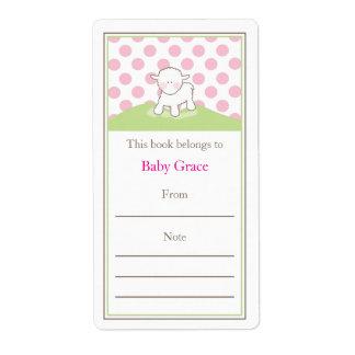 Little Lamb Bookplate