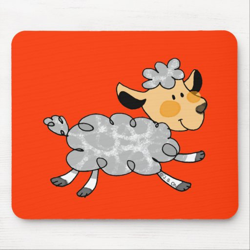 Little lamb mouse pad