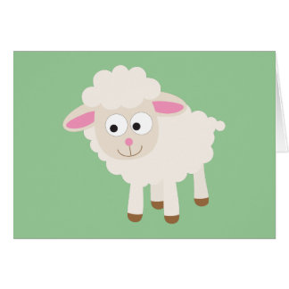Little lamb note card