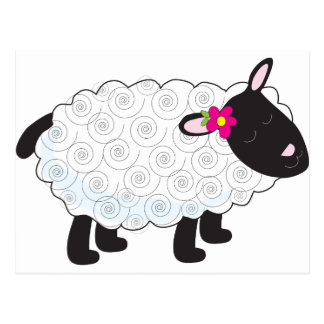 Little Lamb Postcard