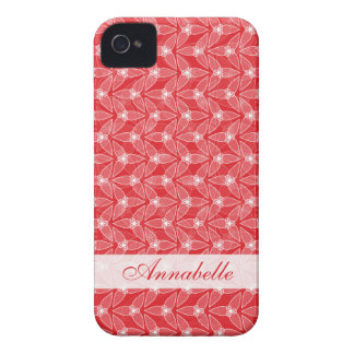 Little Leaf BlackBerry Bold Case-Mate Barely There iPhone 4 Case-Mate Case