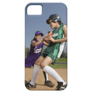 Little league softball game barely there iPhone 5 case