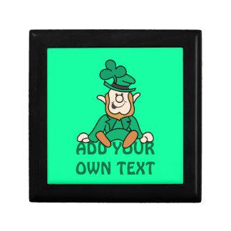 Little Leprechaun - Add Your Own Text Gift Box