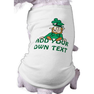 Little Leprechaun - Add Your Own Text Shirt