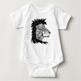 Little Lion Baby Bodysuit