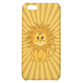 Little Lion Cute Cartoon Cat Cover For iPhone 5C