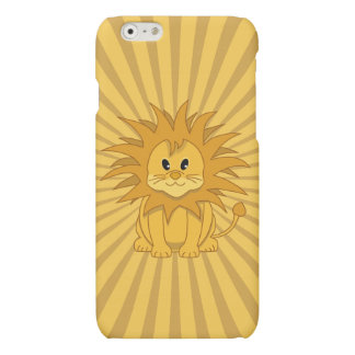 Little Lion Cute Cartoon Wild Cat iPhone 6 Plus Case