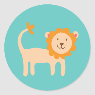 Little Lion Stickers