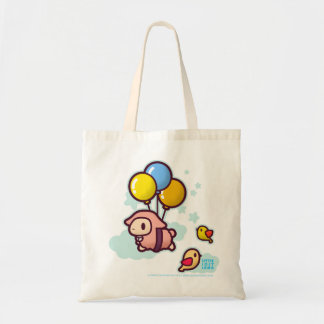 Little Lost Lamb Flying Balloon Budget Tote Bag
