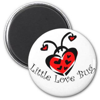 Little Love Bug! 6 Cm Round Magnet