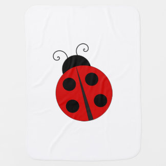 Little love bug, adorable lady  bug blanket