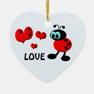 Little Love Bug Keepsake Ornament