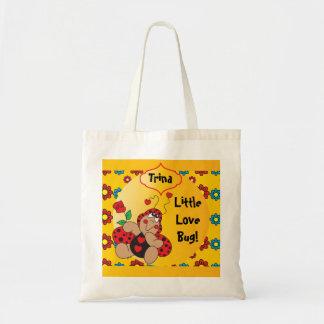 Little Love Bug Nursery Theme Canvas Bag