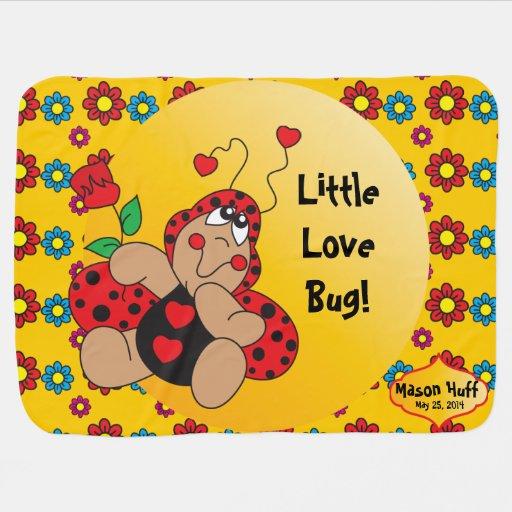 Little Love Bug Nursery Theme Baby Blanket